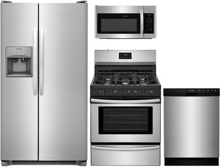 Frigidaire 861375 Kitchen Appliance Package & Bundle Stainless Steel, Main image