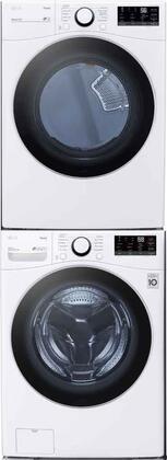 LG  1289278 Washer & Dryer Set White, 1
