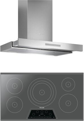 Thermador  1071188 Kitchen Appliance Package Stainless Steel, main image