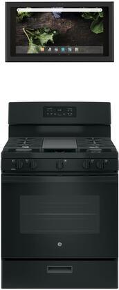 GE 1077275 Kitchen Appliance Package & Bundle Black, main image