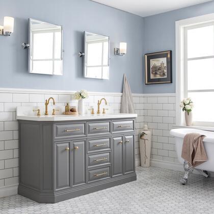 Water Creation PA60C0612 Sink Vanity, 1