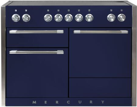 AGA Mercury AMC48INBLB Freestanding Electric Range Blue, AMC48INBLB Induction Range