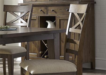 Liberty Furniture Hearthstone 382SR5074 Dining Room Buffet Brown, Main Image