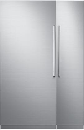 Dacor Modernist 772325 Column Refrigerator & Freezer Set Stainless Steel, 1