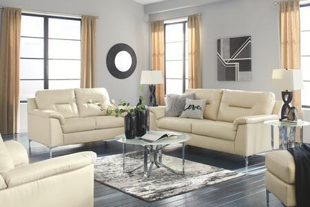 Signature Design by Ashley Tensas 39602384SET Living Room Set White, Living Room Set