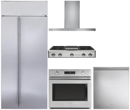 Monogram 889970 Kitchen Appliance Package & Bundle Stainless Steel, 1
