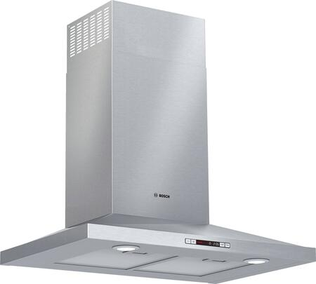 HCP30E52UC 30″ Chimney Wall Mount Range Hood with 300 CFM  Energy Star Certified  Three Speed Touch Controls and Dishwasher Safe Aluminum Mesh