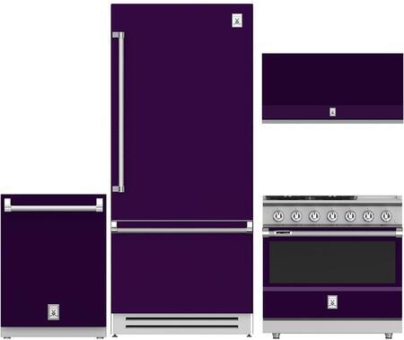 Hestan  963971 Kitchen Appliance Package Purple, 1