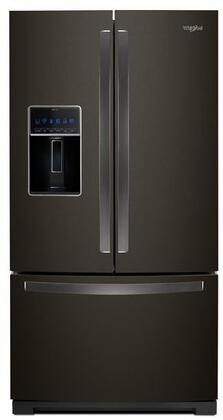Whirlpool  WRF767SDHV French Door Refrigerator Black Stainless Steel, 1
