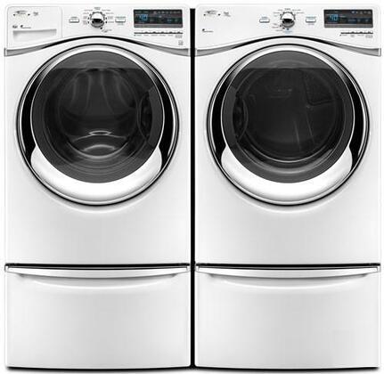 Whirlpool Duet Steam WED94HEXW Electric Dryer , 1