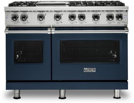 Viking 5 Series VGR5486GSBLP Freestanding Gas Range Blue, VGR5486GSB 5 Series Range