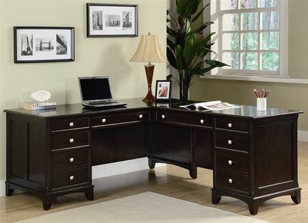 Coaster Garson 801011 Office Desk Brown, 1