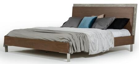 VIG Furniture Nova Domus Conner VGANCONNERBEDDKQ Bed Brown, Main Image