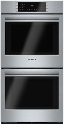 Bosch 800 Series HBN8651UC Double Wall Oven Stainless Steel, Main picture