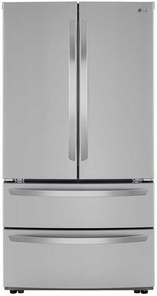 LG LMWS27626S French Door Refrigerator Stainless Steel, LMWS27626S French Door Refrigerator
