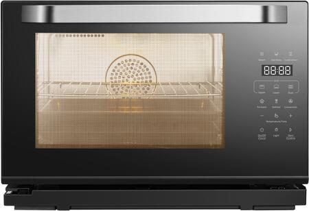 CT761 20″ Countertop Portable Steam Oven with 1 cu. ft. Capacity  Convection  Seven Cooking Modes with STEAM Function  LCD Touch Screen  Spacious