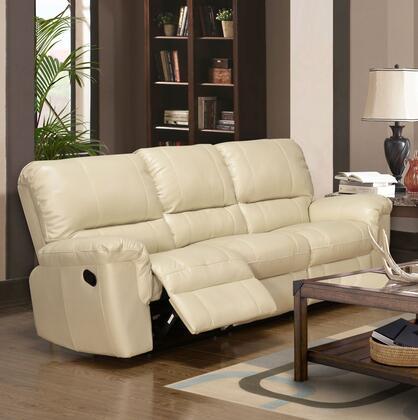 Myco Furniture Ramon RA255SCR Motion Sofa Beige, 1