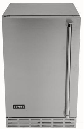 Coyote  CBIRL Compact Refrigerator Stainless Steel, CBIRL Outdoor Refrigerator