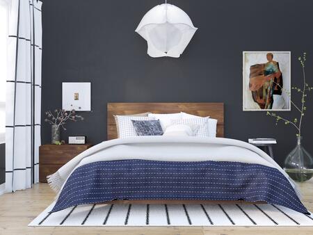 Nexera Karibou 400865 Bedroom Set Brown, Main Image