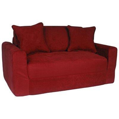 Fun Furnishings 10232 Sofa Bed Red, 1