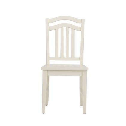 Liberty Furniture Summer Hills 518C1500S Dining Room Chair White, Front View