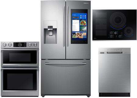 Samsung  1011286 Kitchen Appliance Package Stainless Steel, main image
