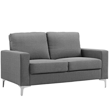 Modway Allure EEI2777GRY Stationary Sofa Gray, 1
