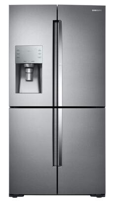 Samsung  RF28K9380SR French Door Refrigerator Stainless Steel, Front