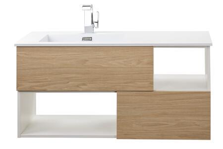 Cutler Kitchen and Bath Sangallo FVCAST42 Sink Vanity Brown, Main Image