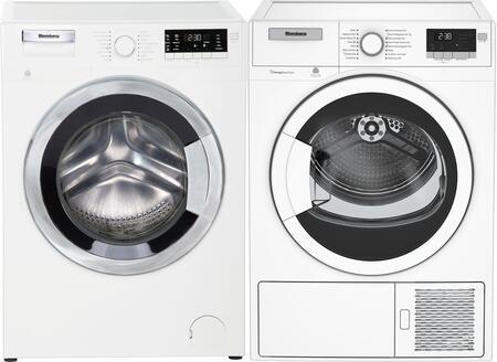 Blomberg  958008 Washer & Dryer Set White, 1
