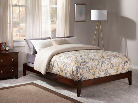 Atlantic Furniture Concord AR8041034 Bed Brown, AR8041034