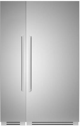 Bertazzoni  1309174 Column Refrigerator & Freezer Set Stainless Steel, 1