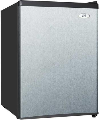 Sunpentown RF244SS Compact Refrigerator Stainless Steel, Main Image