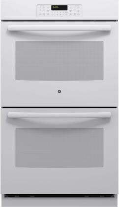 GE  JT3500DFWW Double Wall Oven White, Main Image