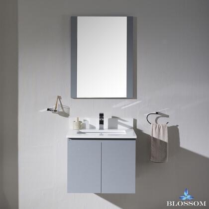 Blossom Monaco 0002415WHM Sink Vanity Grey, 0002415WHM 1