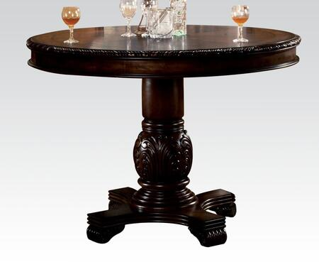 Acme Furniture Chateau de Ville 64082 Bar Table Brown, Counter Height Table