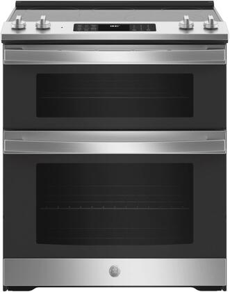 GE  JSS86SPSS Slide-In Electric Range Stainless Steel, JSS86SPSS Slide In Electric Range