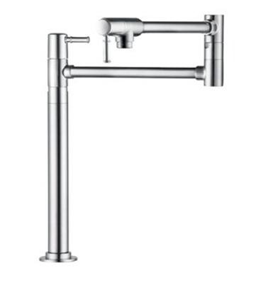 4219800 Double Handle Deck Mounted Pot Filler Faucet From The Talis C Collection: Steel