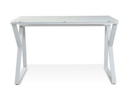 Unique Furniture 200 Series 223WH Office Desk White, 1