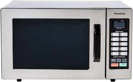 Panasonic  NE1054F Commercial Microwave Stainless Steel, Main Image