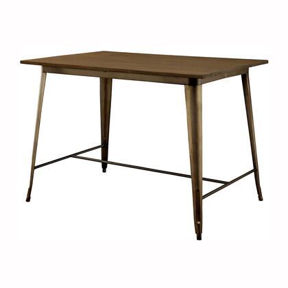 Furniture of America Cooper II CM3529PT Dining Room Table , main image