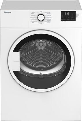 DV17600W 24″ Compact Electric Dryer with 3.7 cu. ft. Capacity  OptiSense Sensor  Auto AntiCrease+  Bidirectional Drum Action  Stainless Steel Drum