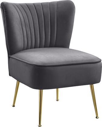 Meridian Tess 504GREY Accent Chair Gray, 504Grey 1