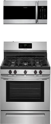 Frigidaire  1358470 Kitchen Appliance Package Stainless Steel, Main image