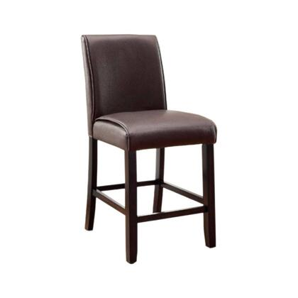 Benzara Gladstone II BM131337 Bar Stool Brown, BM131337