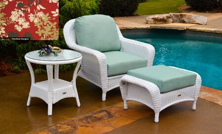 Tortuga Sea Pines LEXSTCO1WMONTF Outdoor Patio Set White, LEXSTCO1WMONTF Main Image