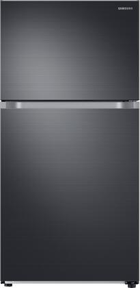 Samsung RT21M6213SG Top Freezer Refrigerator Black Stainless Steel, Main Image