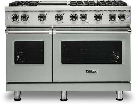 Viking 5 Series VGR5486GAGLP Freestanding Gas Range Gray, VGR5486GAGLP Gas Range