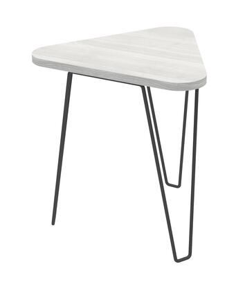 Ideaz International Fleming 24812AG End Table Gray, Main Image