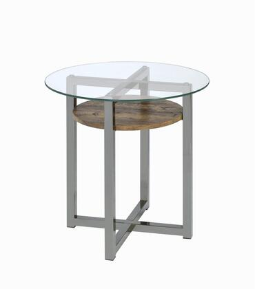 Acme Furniture Janette 80562 End Table Brown, 1